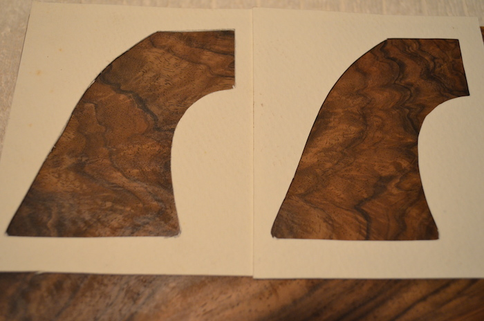 (3) This blank has coloring that will match, and a random grain flow that will result in a nice pair.