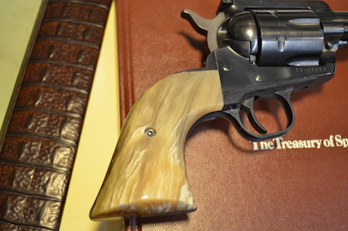 (7) A Ruger Blackhawk with Musk Ox