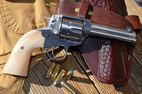 (9) A Ruger Vaquero with Dall Sheep