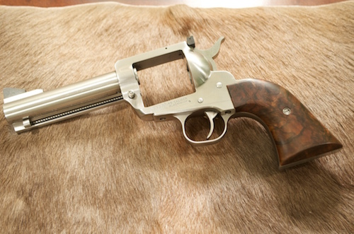 (2) French Walnut with a red/brown tone stain & finish to look like the old Winchesters or English guns.