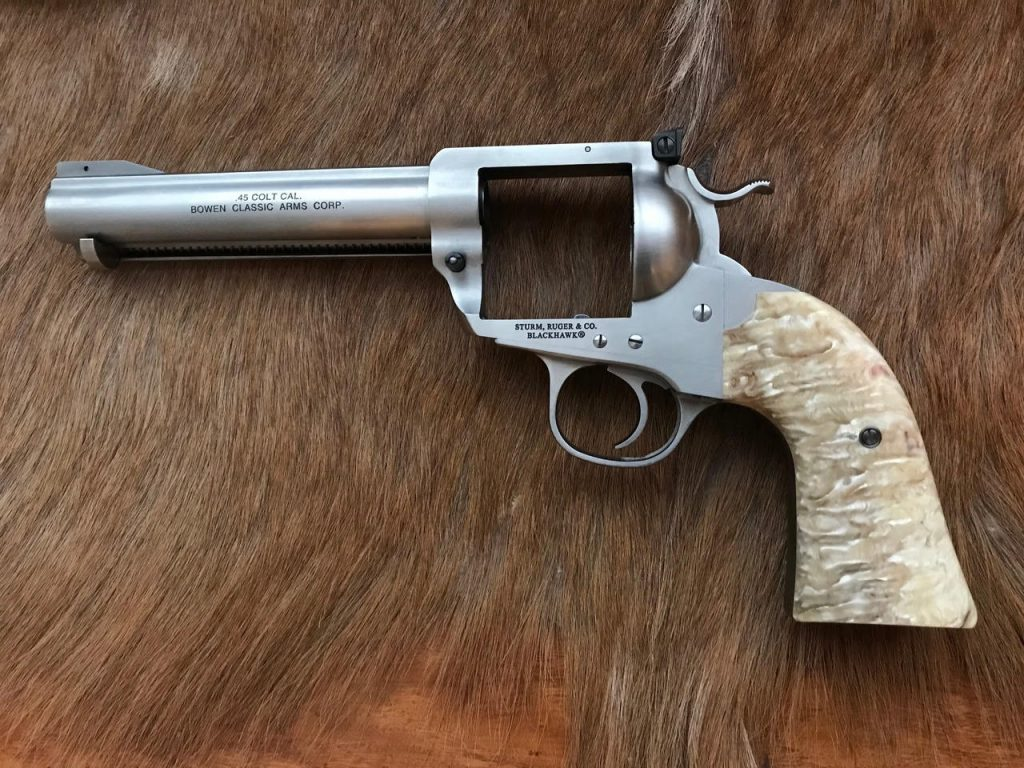 (9) Ruger Bisley with Musk Ox
