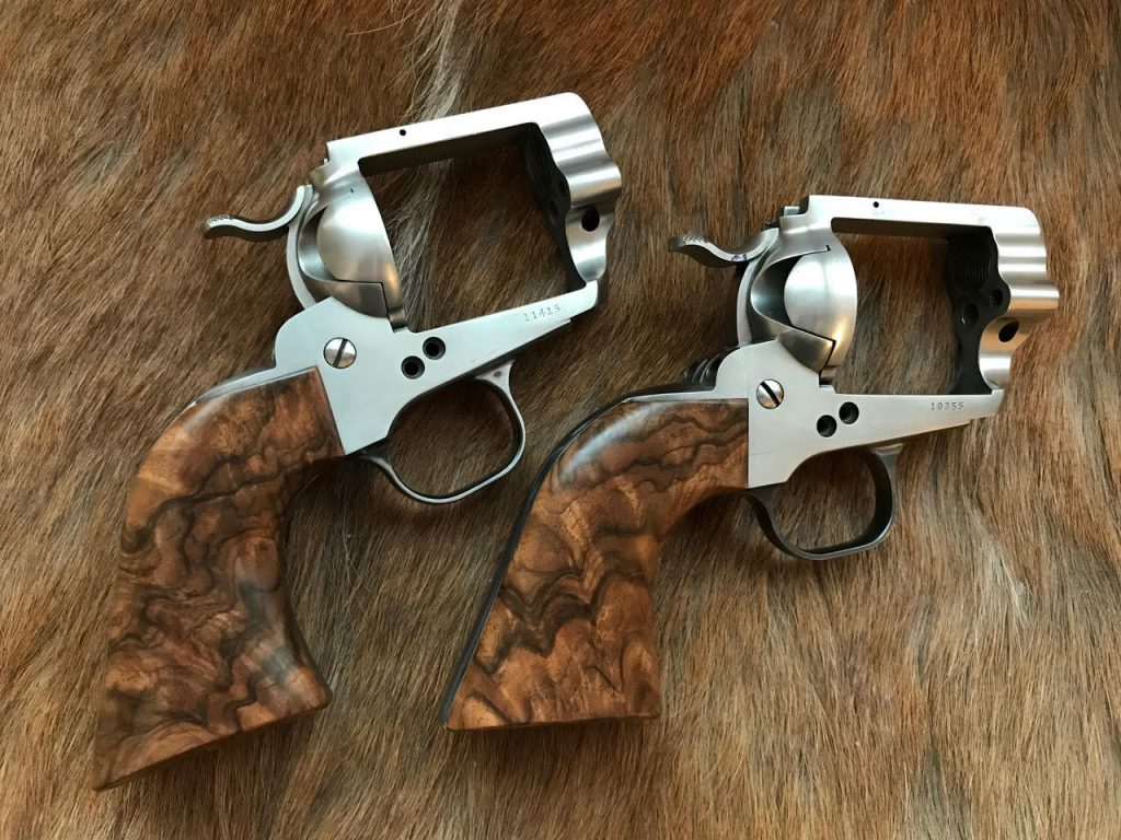 (4) Ruger Blackhawks wearing Turkish walnut
